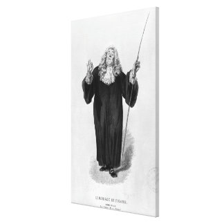 Brid'oison Canvas Print