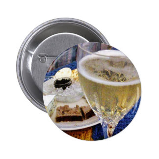 Brie Caviar Duck Pate And Champagne Pin