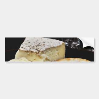 Brie Cheese And Crackers Bumper Stickers