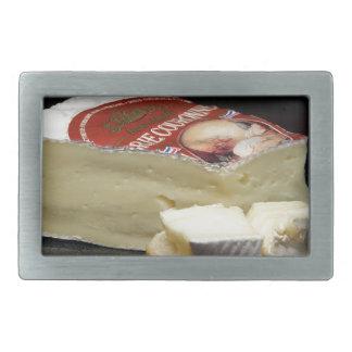 Brie Cheese Design Rectangular Belt Buckles