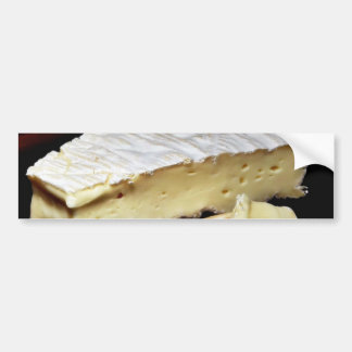 Brie De Meux Cheese Bumper Sticker
