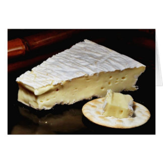 Brie De Meux Cheese Card