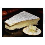 Brie De Meux Cheese Greeting Card