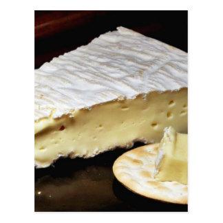 Brie De Meux Cheese Postcard