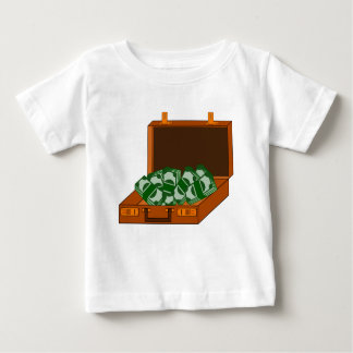 Briefcase Full of Money Baby T-Shirt