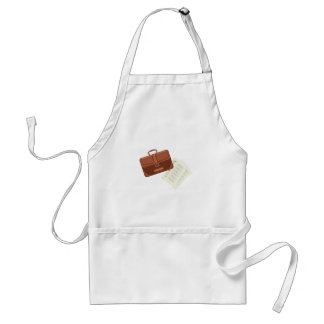 Briefcase & Papers Adult Apron