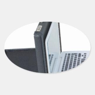 BriefcaseBackedLaptop061315.png Oval Sticker