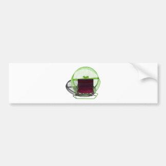 BriefcaseExerciseWheel030313.png Bumper Sticker