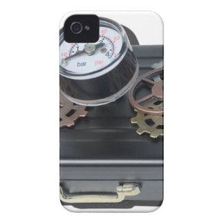 BriefcaseGaugeGears062115.png iPhone 4 Case