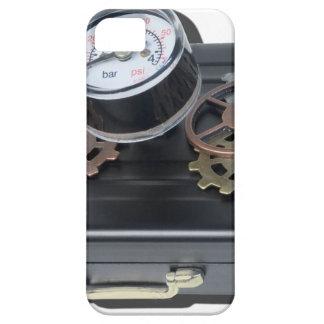 BriefcaseGaugeGears062115.png iPhone SE/5/5s Case