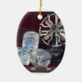 BriefcaseIceCubesFan081914.png Ceramic Ornament