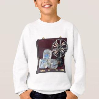 BriefcaseIceCubesFan081914.png Sweatshirt