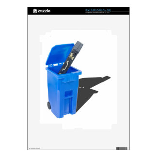 BriefcaseInRecyclingBin061315.png Skin For iPad 2