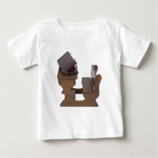 BriefcaseOnWoodenDesk041412.png Baby T-Shirt