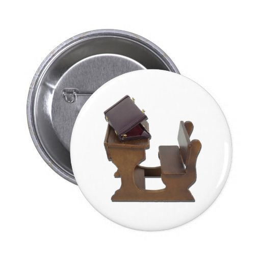BriefcaseOnWoodenDesk041412.png Pinback Buttons