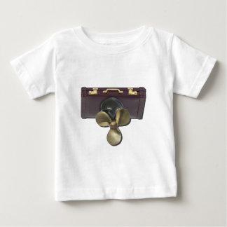 BriefcasePropeller081212.png Baby T-Shirt