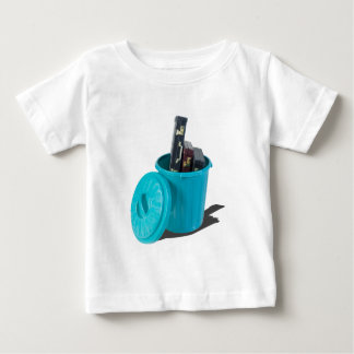 BriefcasesInGarbageCan061315.png Baby T-Shirt