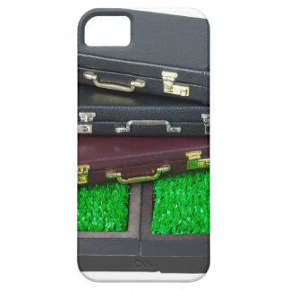 BriefcasesOnLawn061315.png iPhone SE/5/5s Case