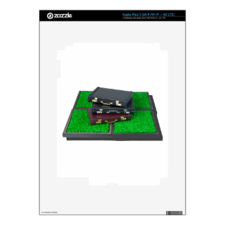 BriefcasesOnLawn061315.png Skin For iPad 3