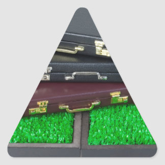 BriefcasesOnLawn061315.png Triangle Sticker