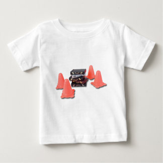 BriefcasesWithTrafficCones061315.png Baby T-Shirt