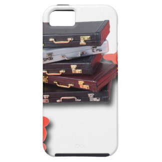 BriefcasesWithTrafficCones061315.png iPhone 5 Carcasa