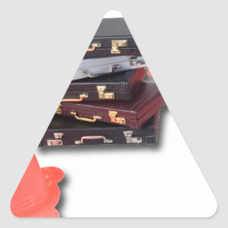 BriefcasesWithTrafficCones061315.png Triangle Sticker