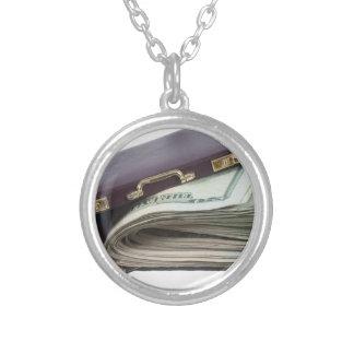 BriefcaseWadMoney011813.png Round Pendant Necklace