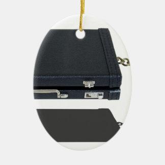 BriefcaseWithAnchor101115.png Adorno Navideño Ovalado De Cerámica