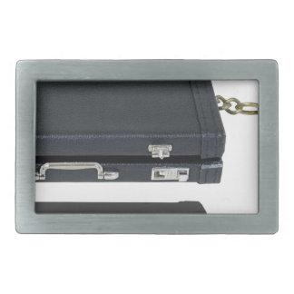 BriefcaseWithAnchor101115.png Rectangular Belt Buckle