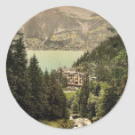 Brienz Lake, Hotel Giessbach, Bernese Oberland, Sw Sticker
