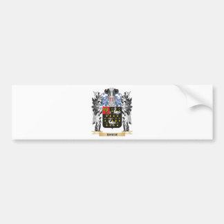 Brier Coat of Arms - Family Crest Car Bumper Sticker