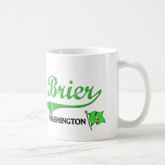 Brier Washington City Classic Classic White Coffee Mug