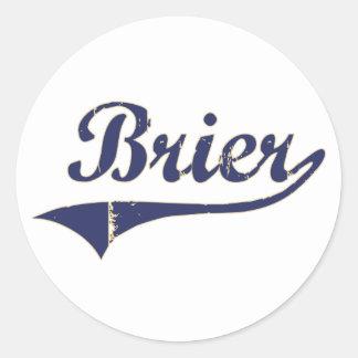 Brier Washington Classic Design Classic Round Sticker