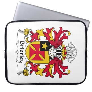 Brierley Family Crest Computer Sleeve