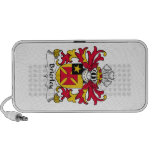 Brierley Family Crest Notebook Speakers