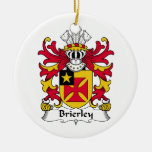 Brierley Family Crest Ornaments