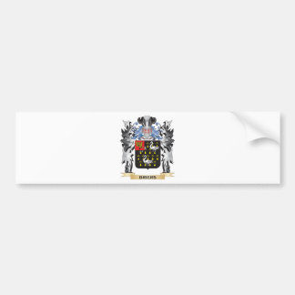 Briers Coat of Arms - Family Crest Car Bumper Sticker