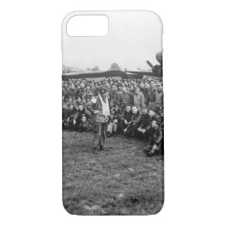 Brig. Gen. Anthony C. Mcauliffe_War image iPhone 7 Case