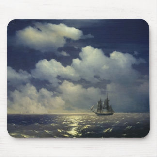 Brig Mercury after the Victory over Turkish Ships Mouse Pad