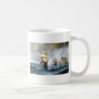 Brig Mercury Attacked by Two Turkish Ships Coffee Mugs