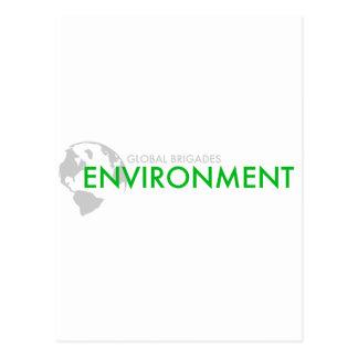 Brigada del ambiente tarjeta postal