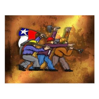 Brigada Muralista Ramona Parra - Chile Tarjeta Postal