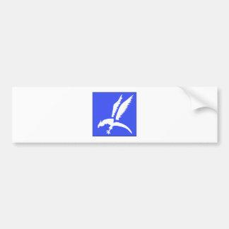 Brigada polaca del paracaídas etiqueta de parachoque