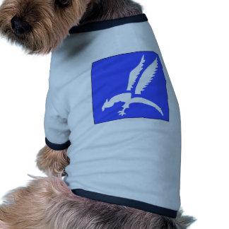 Brigada polaca del paracaídas camiseta de perrito