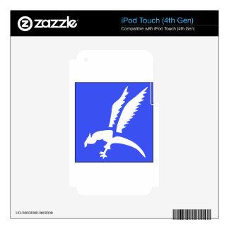 Brigada polaca del paracaídas iPod touch 4G calcomanías