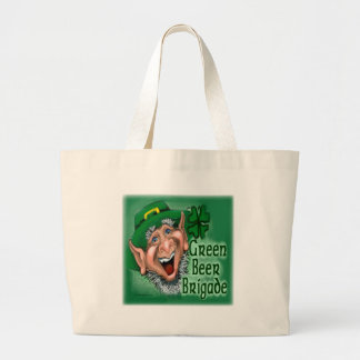 Brigada verde de la cerveza bolsa