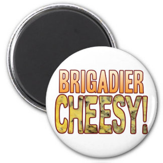 Brigadier Blue Cheesy Magnet