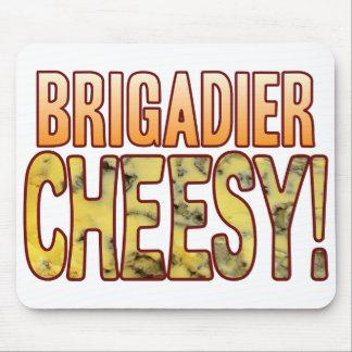 Brigadier Blue Cheesy Mouse Pad