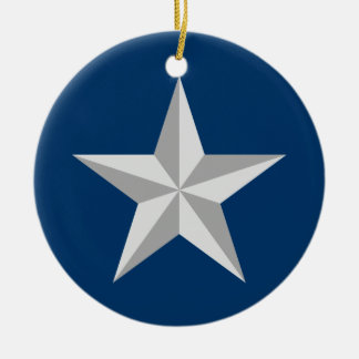 Brigadier General Ceramic Ornament